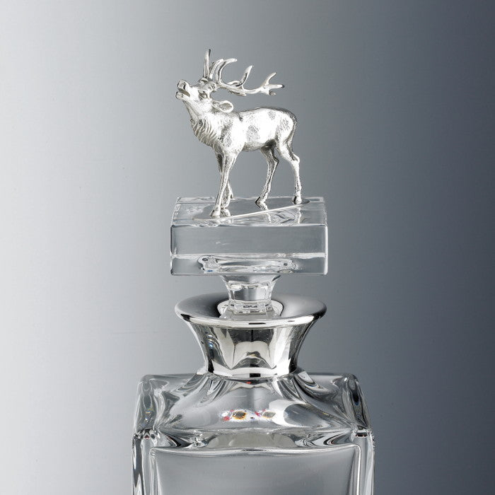 Tyrol Silver Decanter (pyramidal, stallion)