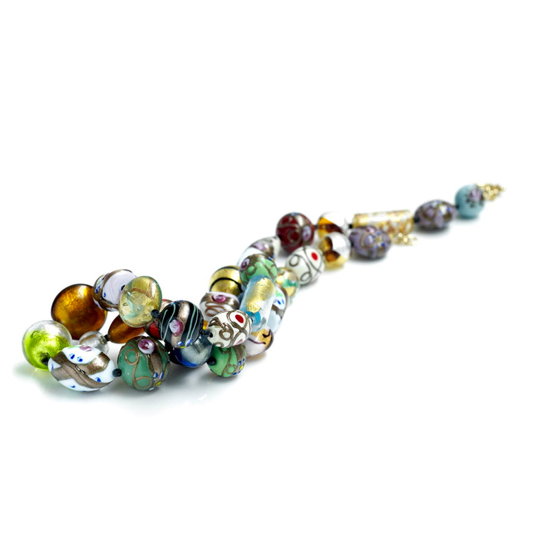 Masquerade Murano Glass Necklace