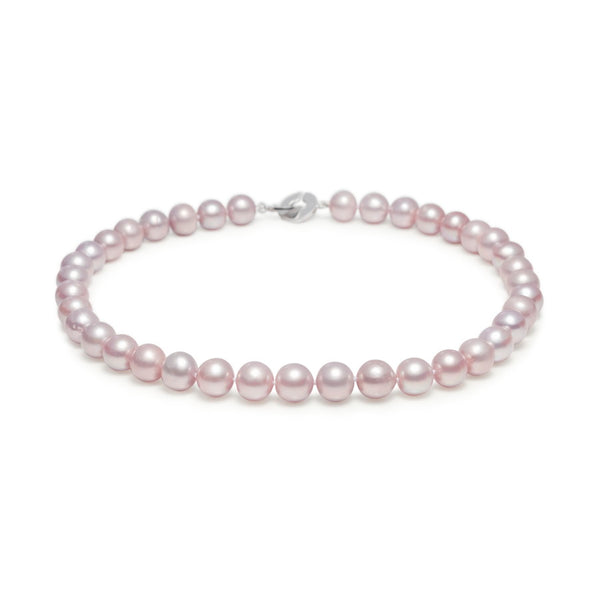 Natural 11mm Pink Pearl Necklace