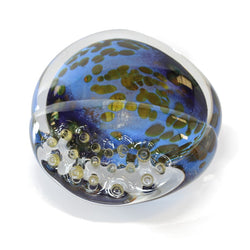 Shoreline English Art Glass Paperweight