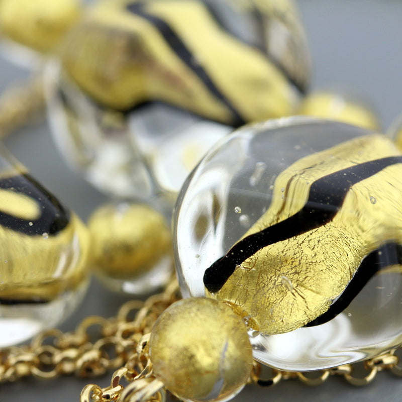 Pepitoro Murano Glass Necklace
