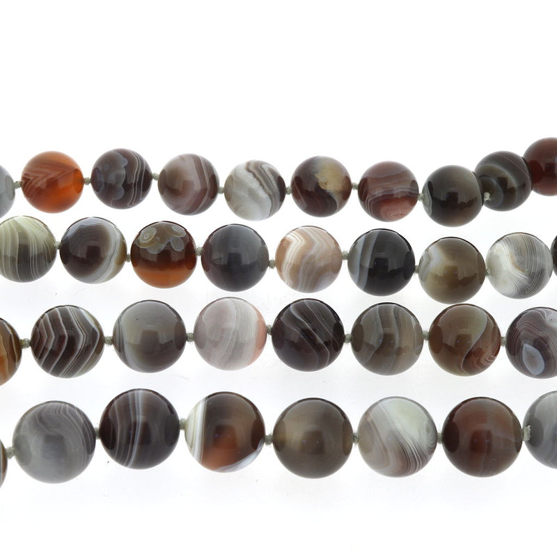 R100 Botswana Agate Necklace SAMPLE