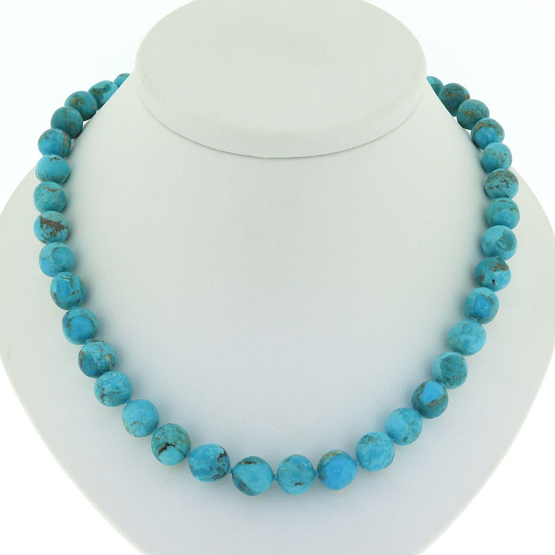 R106 Blue Kingman Turquoise Necklace SAMPLE