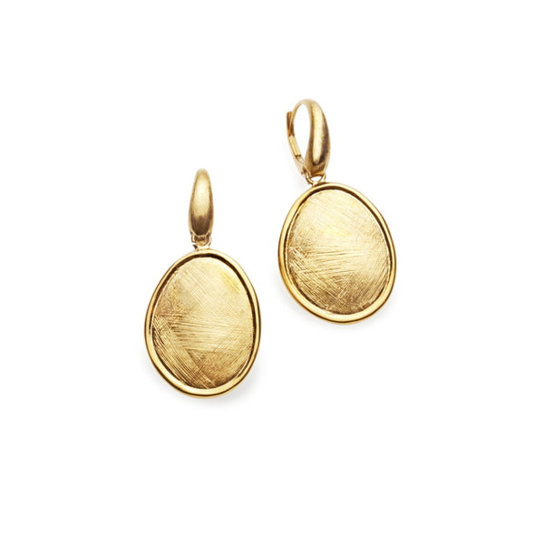 Roma Gilded Silver Drop Earrings