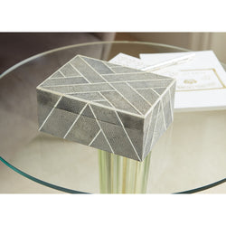 Bellagio Shagreen & Bone Box