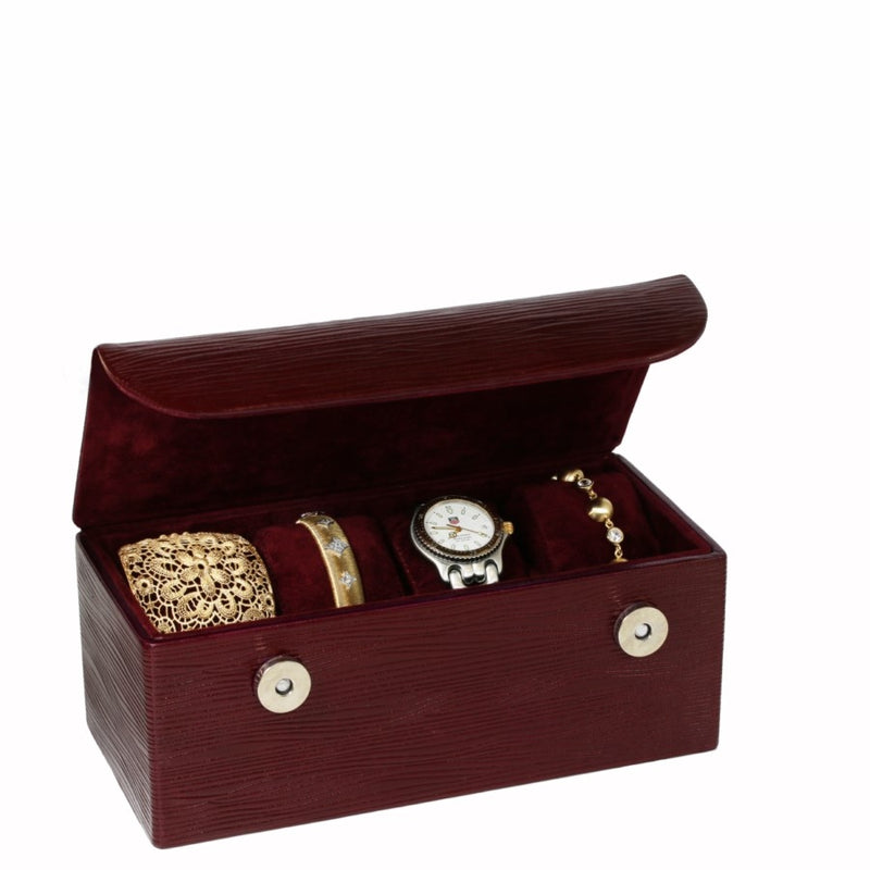 Leather Watch & Bracelet Box