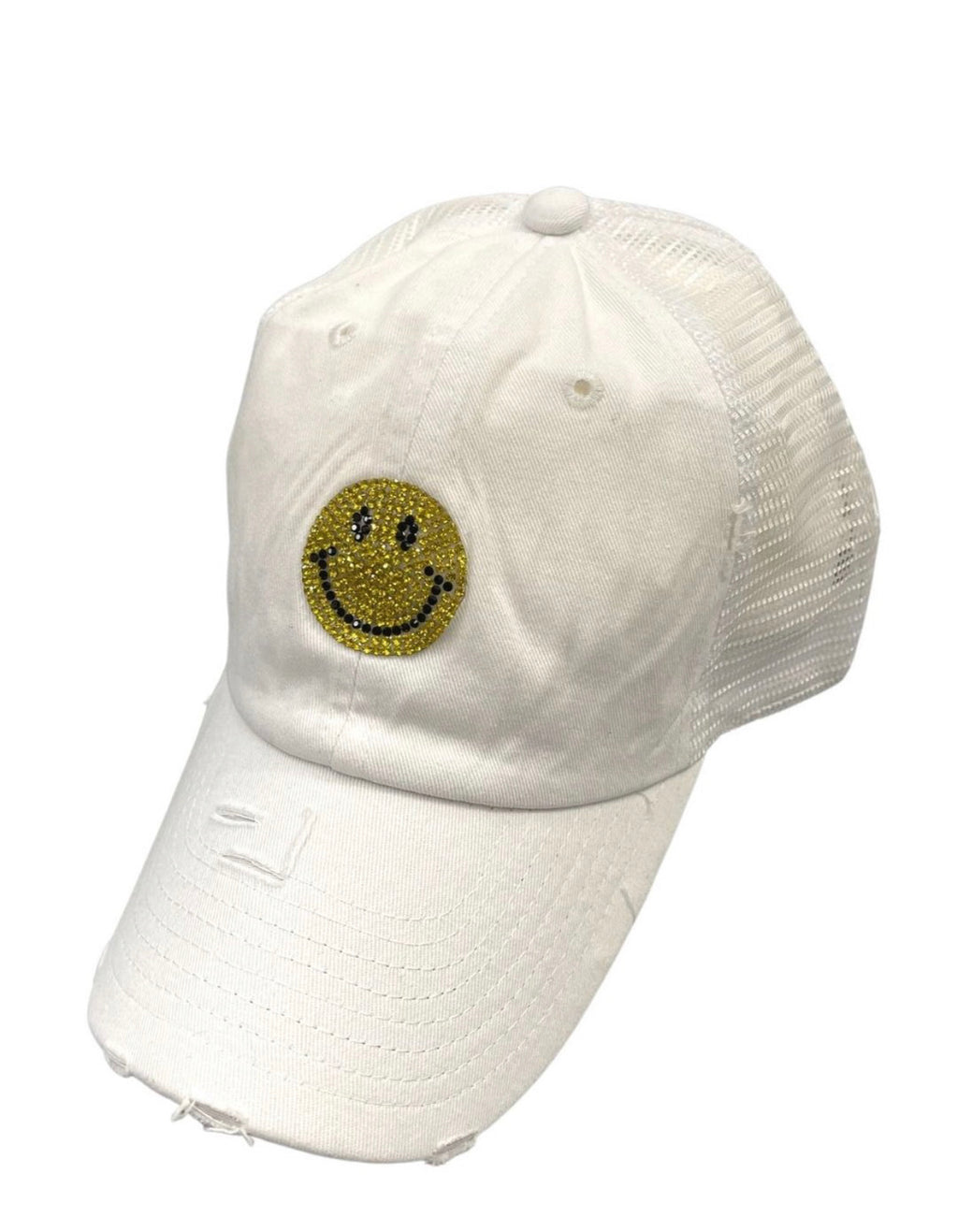 Smiley Patch Hat