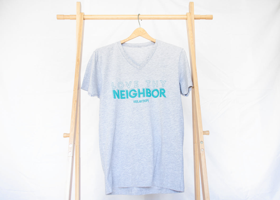 Love Thy Neighbor Grey