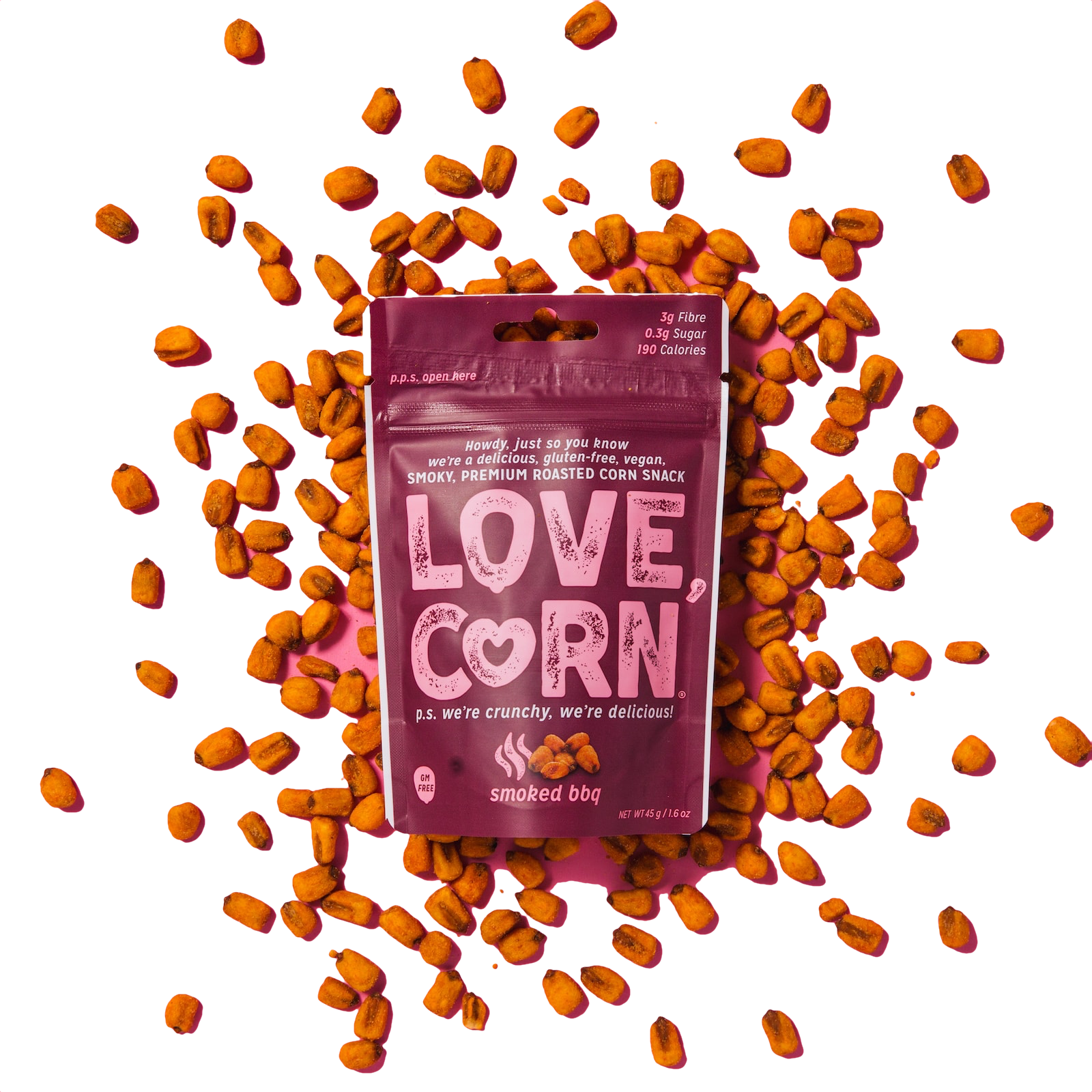 Love Corn, Smoked BBQ Flavor