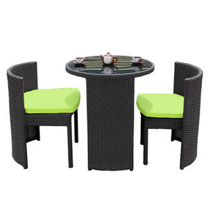 3PCS RATTAN OUTDOOR TABLE AND CHAIR SETS, Outdoor Furniture,Others - greenleif.sg