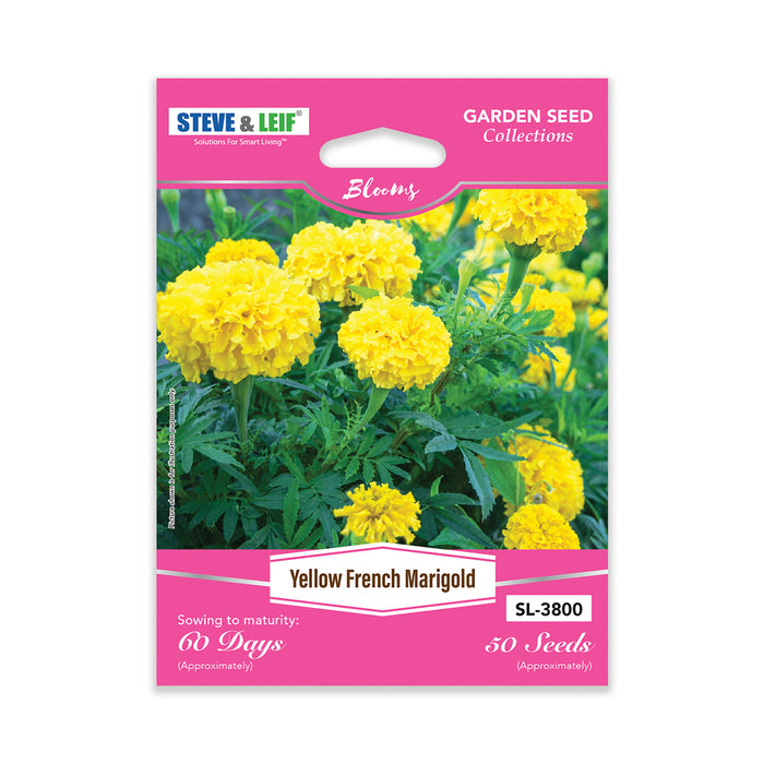 Yellow French Marigold Seeds