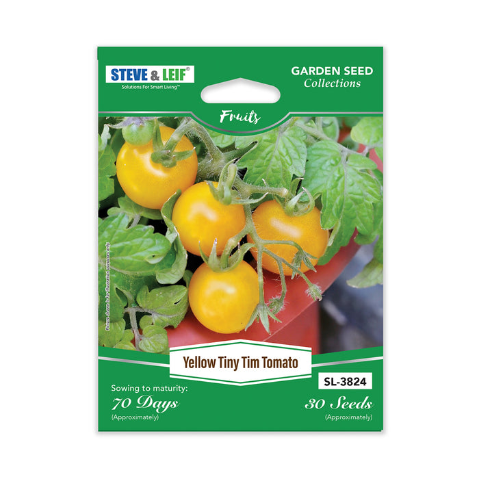 Yellow Tiny Tim Tomato Seeds