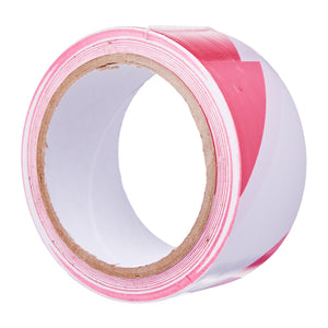 Red/White PVC Floor Marking Tape (48mm x 20m), ,Steve & Leif - greenleif.sg