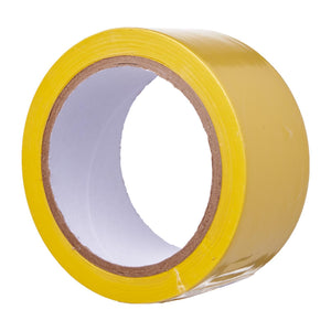 Yellow PVC Floor Marking Tape (48mm x 20m), ,Steve & Leif - greenleif.sg