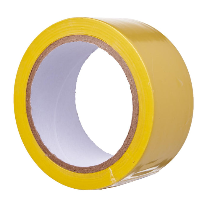 Yellow PVC Floor Marking Tape (48mm x 20m)