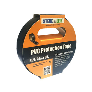 Black PVC Insulation Protection Tape (24mm x 35m), ,Steve & Leif - greenleif.sg