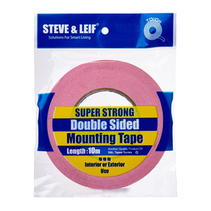 White Double Sided PE Foam Mounting Tape (10m), ,Steve & Leif - greenleif.sg