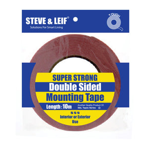 Super Strong Double-Sided White Pe Foam Mounting Tape (24Mm X 10M), ,Steve & Leif - greenleif.sg