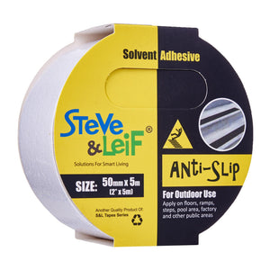 Clear Outdoor Anti-Slip Tape (50Mm X 5M), ,Steve & Leif - greenleif.sg