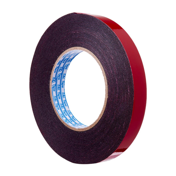 Super Strong Double-Sided Black Pe Foam Mounting Tape (18Mm X 10M)