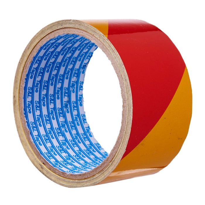 Yellow/Red Reflective Tape // (48mm x 5m)