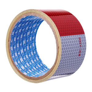 Grade A Red/Silver Automotive Reflective Tape || (48mm x 3M), ,Steve & Leif - greenleif.sg