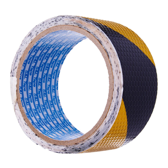 Grade A Yellow/Black Reflective Tape // (48mm x 5M)