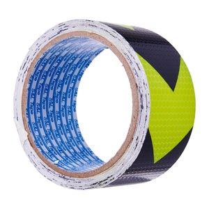 Grade A Neon Yellow/Black Reflective Tape >> (48mm x 5M), ,Steve & Leif - greenleif.sg