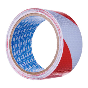Grade A Red/White Reflective Tape // (48mm x 5M), ,Steve & Leif - greenleif.sg