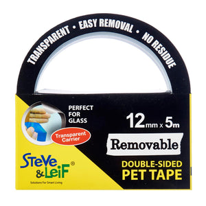 Removable PET Tape (12mm x 5m) - DIY, ,Steve & Leif - greenleif.sg