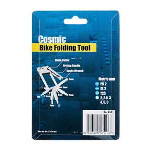 12 in 1 Folding Bike Tool, Bicycle Accessroies,Steve & Leif - greenleif.sg