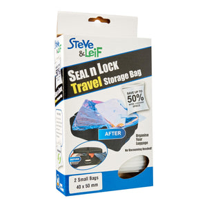 Seal n Lock Travel Storage Bag (2 Sizes), ,Steve & Leif - greenleif.sg