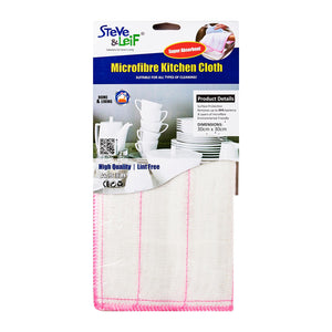 8 Layers Microfibre Kitchen Cloth (3 Pcs), ,Steve & Leif - greenleif.sg