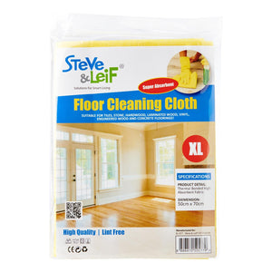 Floor Cleaning Cloth (50cm x 70cm)(Lemon Yellow), ,Steve & Leif - greenleif.sg