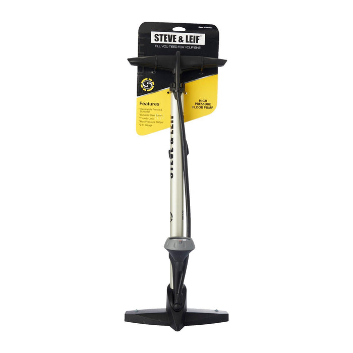 Galaxy Floor Pump with Bottom Mounted Gauge