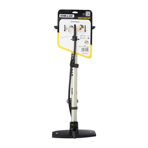 Galaxy Floor Pump with Bottom Mounted Gauge, Bicycle Accessroies,Steve & Leif - greenleif.sg