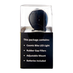 Cosmic 5 LED White Torch, Bicycle Accessroies,Steve & Leif - greenleif.sg
