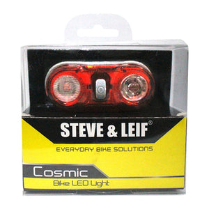 Cosmic 0.5 Watt LED Red Torch, Bicycle Accessroies,Steve & Leif - greenleif.sg