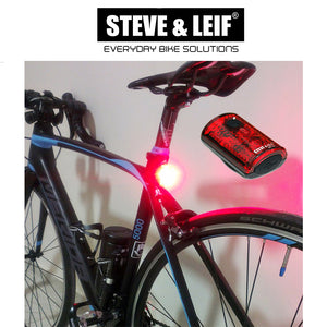 Galaxy USB Rechargeable 3 Red LED Lights, Bicycle Accessroies,Steve & Leif - greenleif.sg