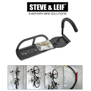 Bike Storage Wall Mounted Hanger Hook, Bicycle Accessroies,Steve & Leif - greenleif.sg