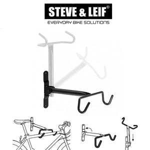 Bike Wall Mounted Heavy Duty Foldable Wall Hanger, Bicycle Accessroies,Steve & Leif - greenleif.sg