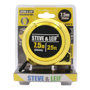 Professional Measuring Tape (7.5m x 25mm), ,Steve & Leif - greenleif.sg
