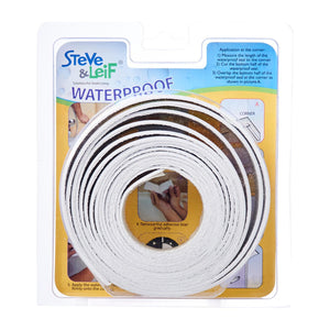 White Waterproof Seal 3.2m (19 mm x 19mm), ,Steve & Leif - greenleif.sg