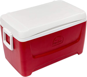 Igloo Island Breeze 48 Quart Cooler Box (Red), ,Igloo - greenleif.sg