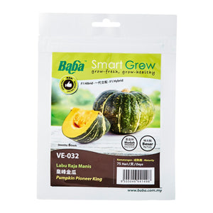 Pumpkin Pioneer King Seeds VE-032 (0.5Gm), Seeds,Baba - greenleif.sg