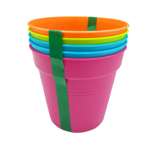 5PCS Soffy Collection Pot 85mm (Mix Colours), ,Baba - greenleif.sg