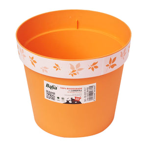 Go Green Collection Pot 150mm (Blaze Orange), Planter Pot,Baba - greenleif.sg