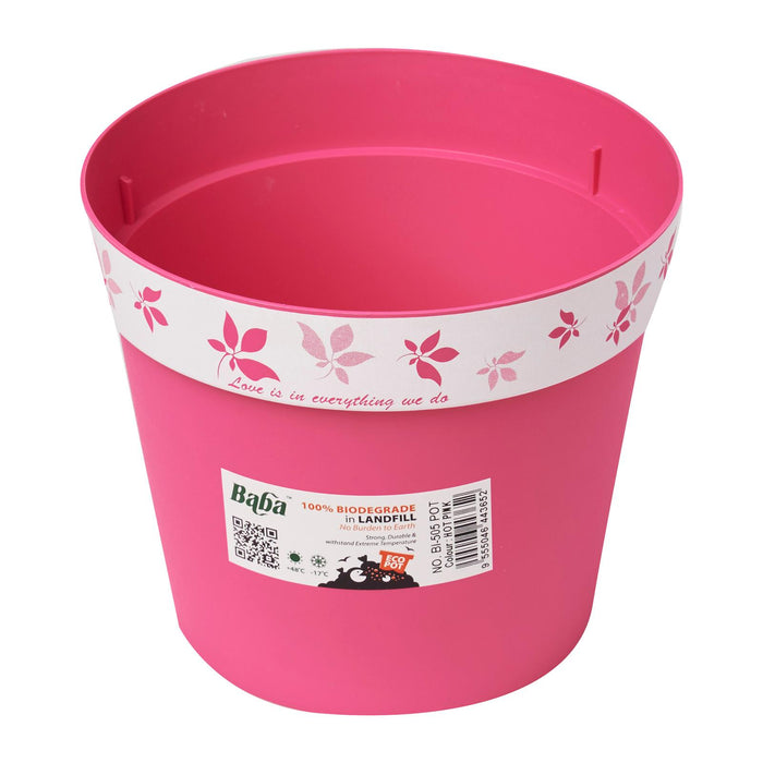 Go Green Collection Pot 150mm (Hot Pink)