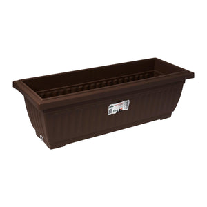 Planter Box 489MM X 187MM (Zen Brown), Planter Pot,Baba - greenleif.sg