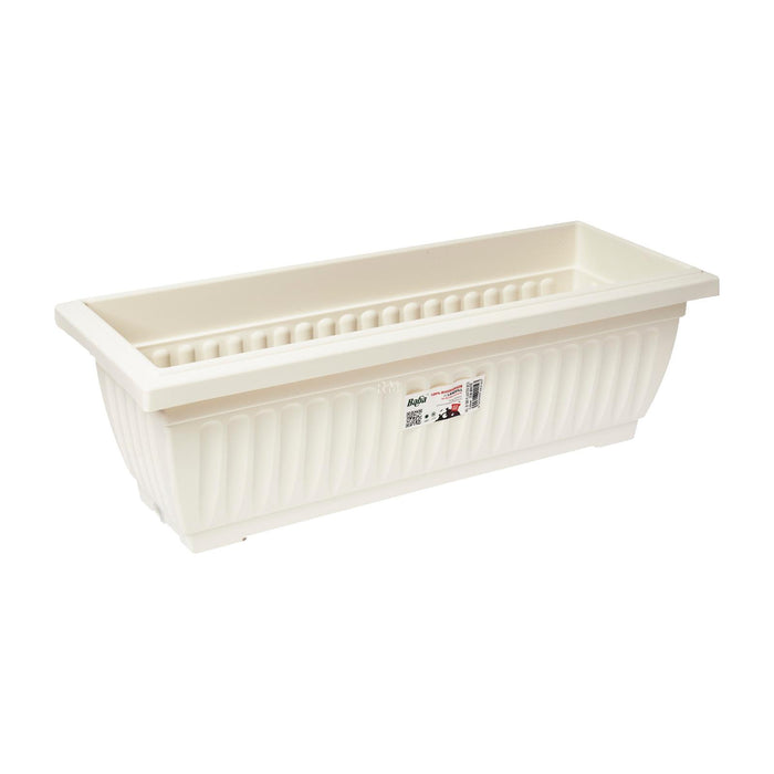 Planter Box 489MM X 187MM (Zen White)